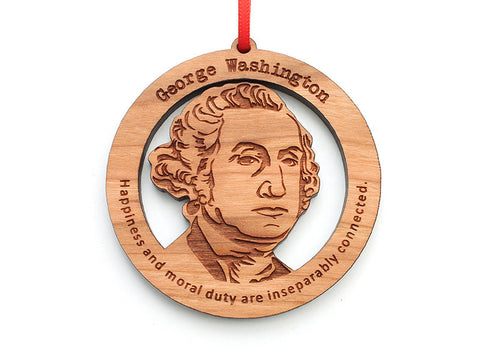 George Washington Ornament - Nestled Pines