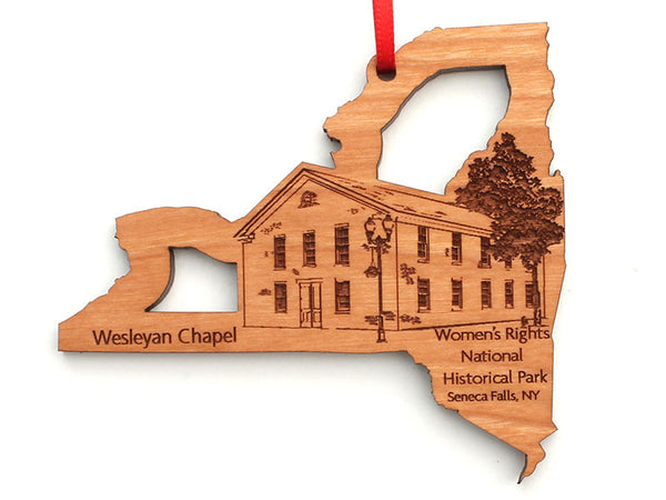 Women's Rights NHP Wesleyan Chapel New York State Ornament