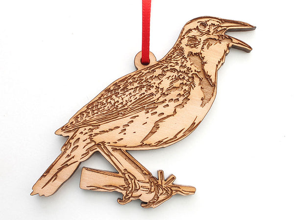 Western Meadowlark Ornament