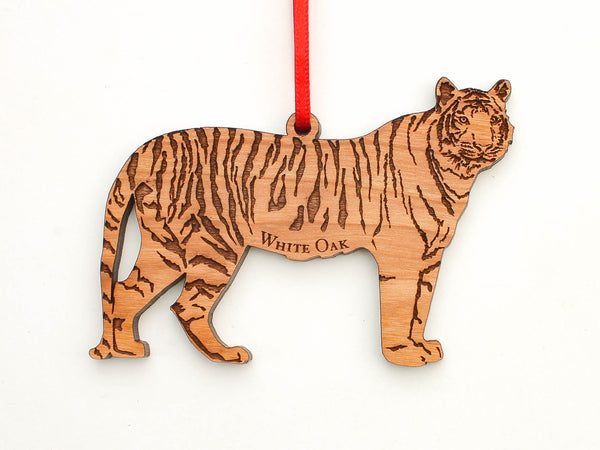 White Oak Conservation Tiger Ornament