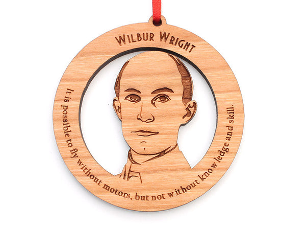 Wilbur Wright Ornament - Nestled Pines