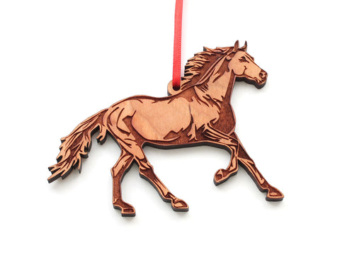 Wild Horse Ornament - Mustang