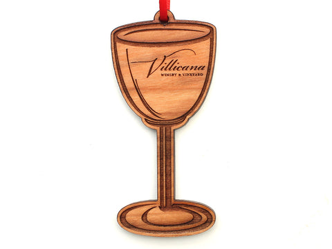 Villicana Wine Glass Ornament