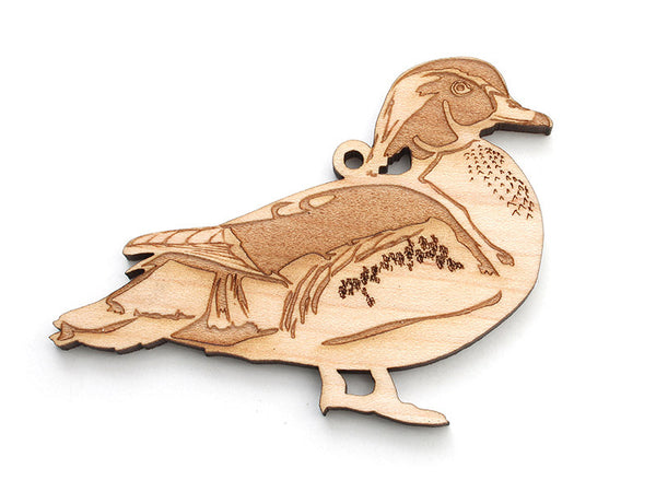 Wood Duck Ornament - Nestled Pines