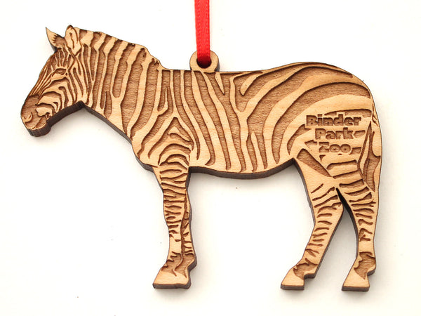 Binder Park Zoo Zebra Ornament
