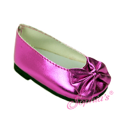 Pink Metallic Dress Shoes