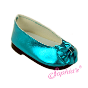 Teal Metallic Dress Shoes