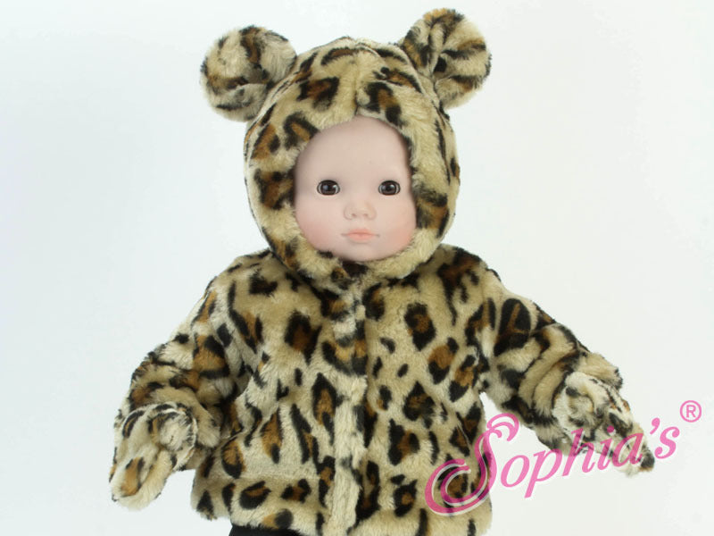 Bitty Baby Leopard Coat