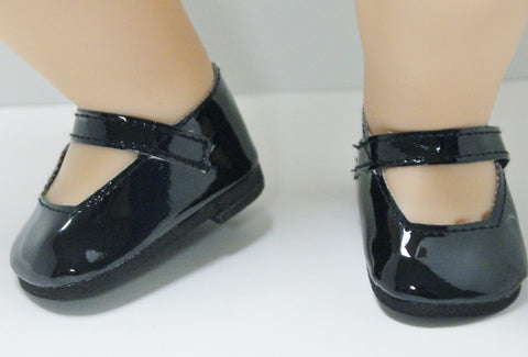 Bitty Baby Mary Jane Shoes - Black