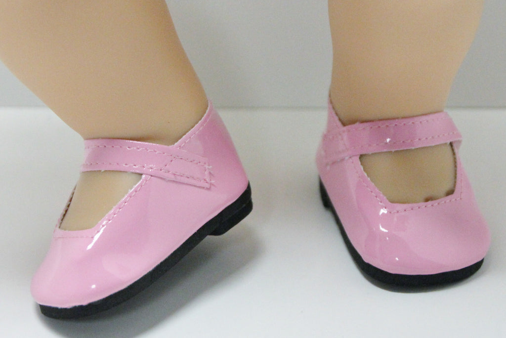 Bitty Baby Mary Jane Shoes - Pink