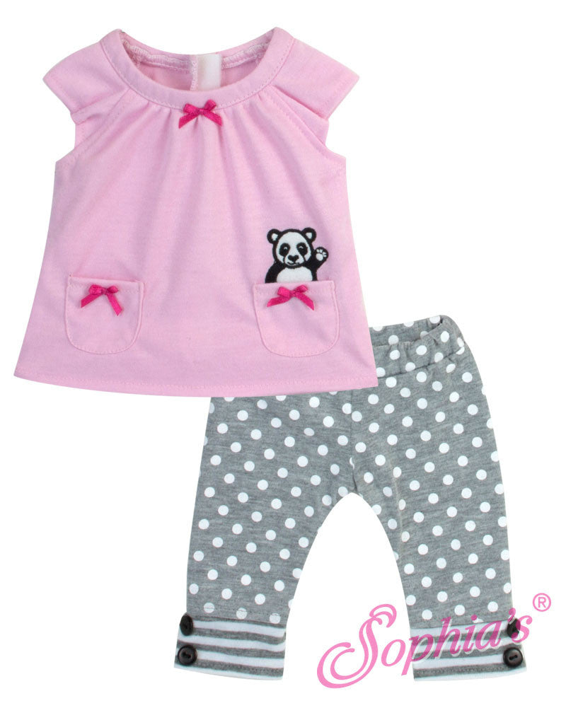 Bitty Baby Panda Bear Tunic & Leggings
