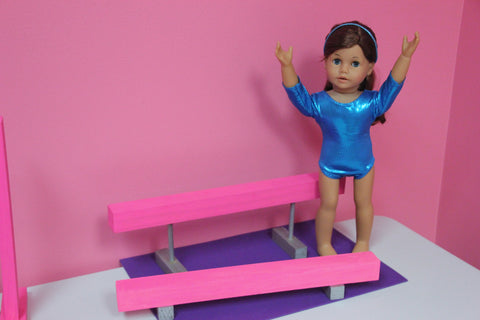 Birthday Party Craft--Doll Size Gymnastic Balance Beams