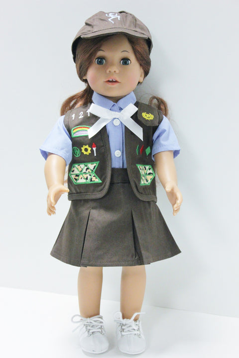 Girl Scouts Brownie Skirt Uniform