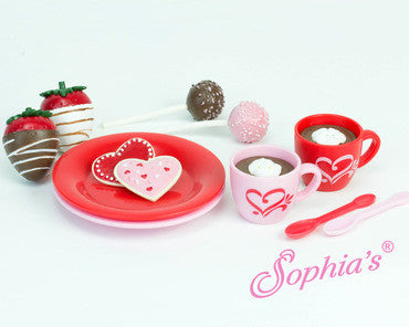 Cocoa and Sweets Set