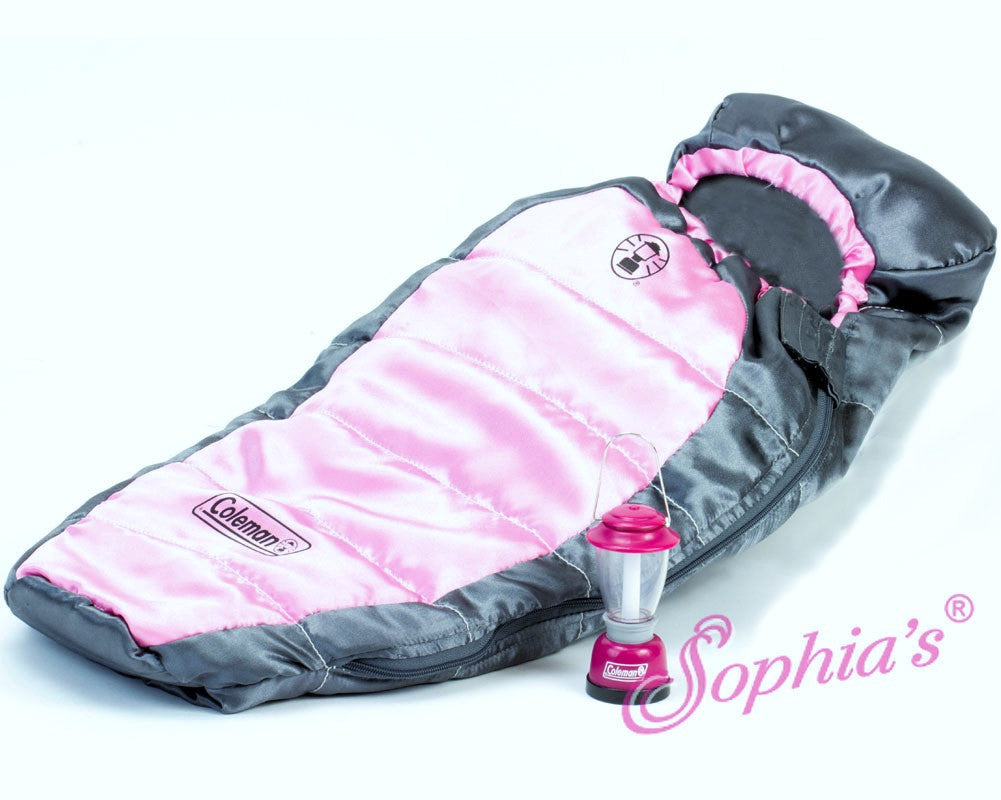 Coleman® Sleeping Bag and Lantern
