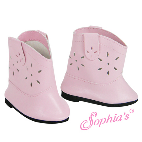 Light Pink Cowgirl Boots