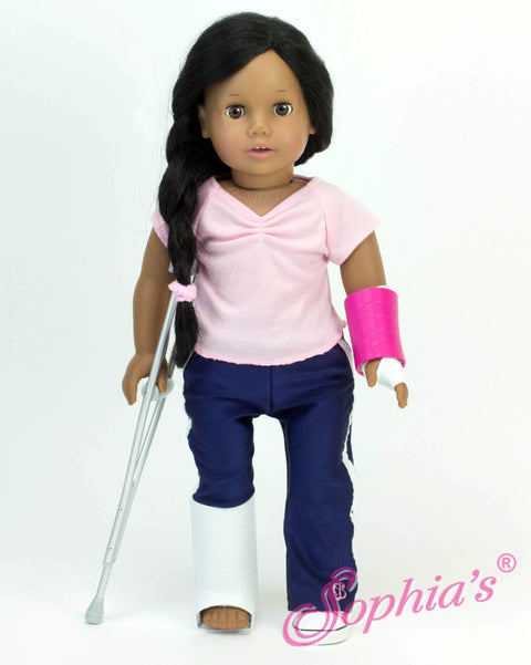 Crutches and Casts Set