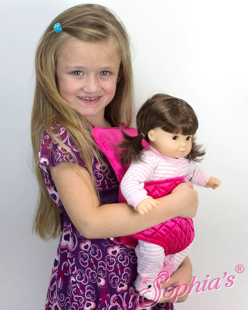 Backpack doll carrier