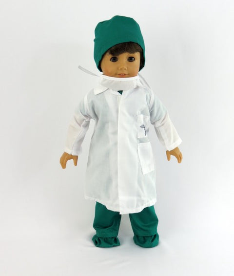 Green Doctor Surgical Scrubs