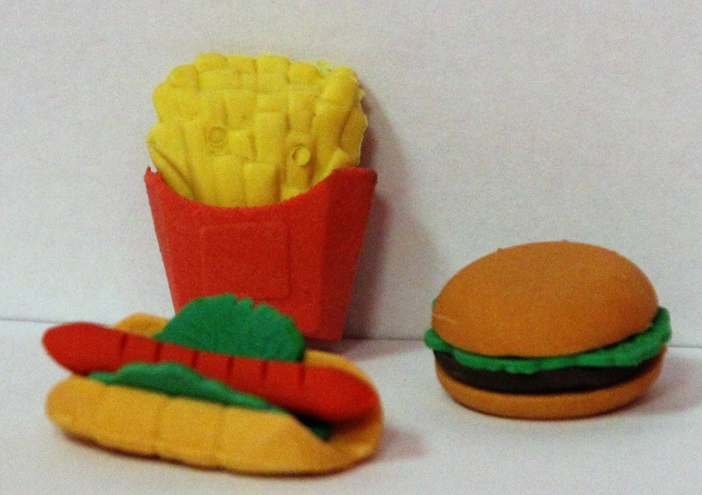 Hamburger, Hot Dog & Fries