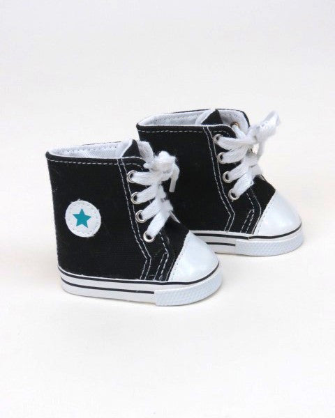 Black Hightop Tennis Shoes/Chucks
