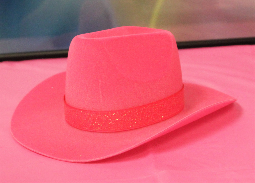 Hot Pink Cowgirl Hat