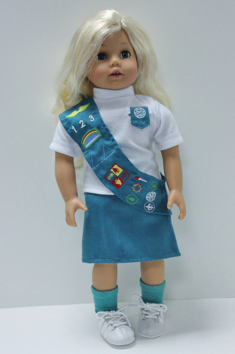 Girl Scouts Junior Uniform