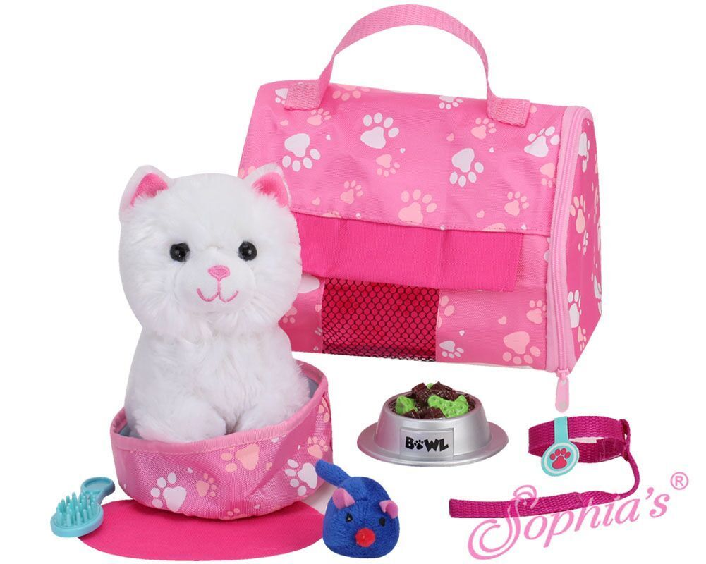 Kitten and Accessories Set