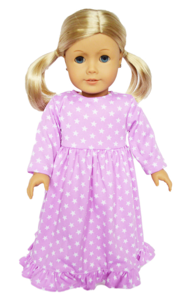 Lavender Star Nightgown