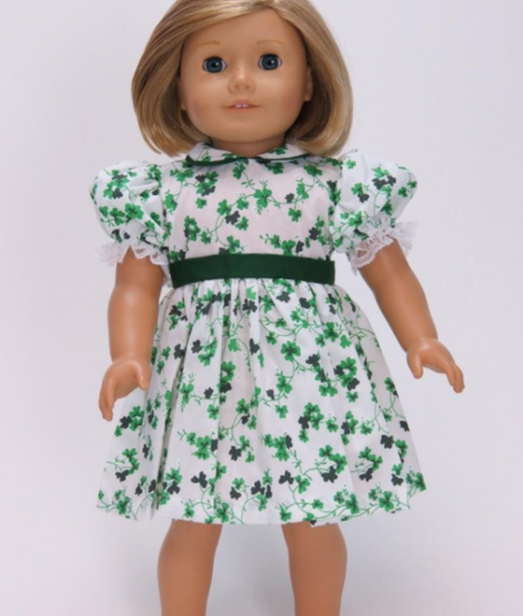 Lucky Shamrock Dress