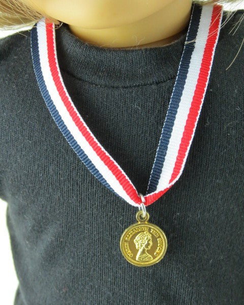 Gold Medal and Ribbon