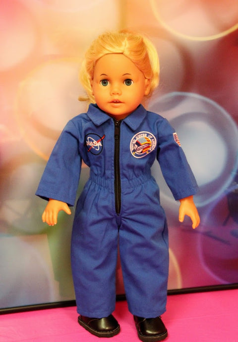 NASA Blue Uniform & Boots