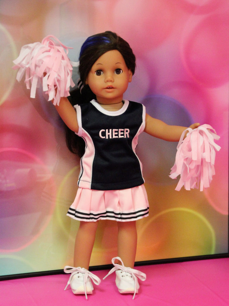 Cheer Uniform-Pink & Navy