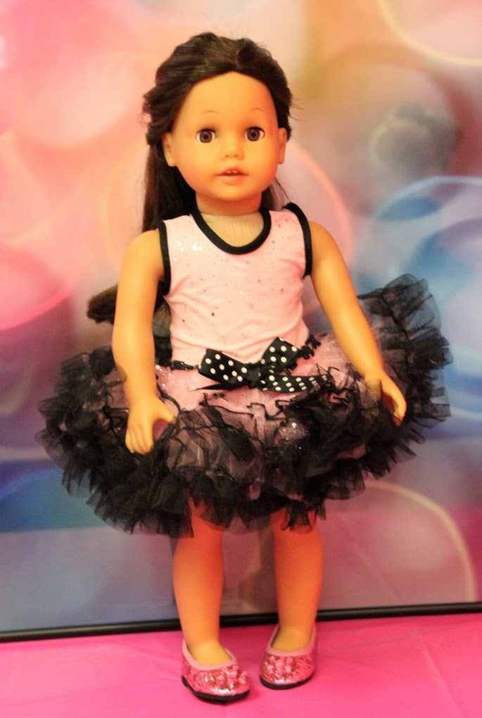 Pink & Black Dance Costume