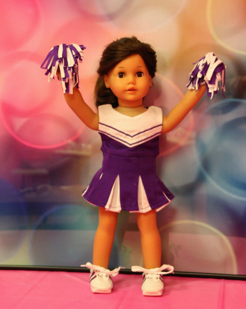 Purple & White Cheer Uniform