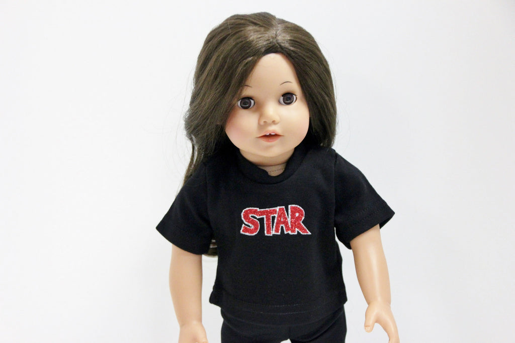 STAR Black T-Shirt