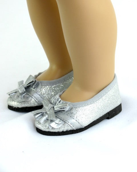 Silver Sparkle Dress Shoes