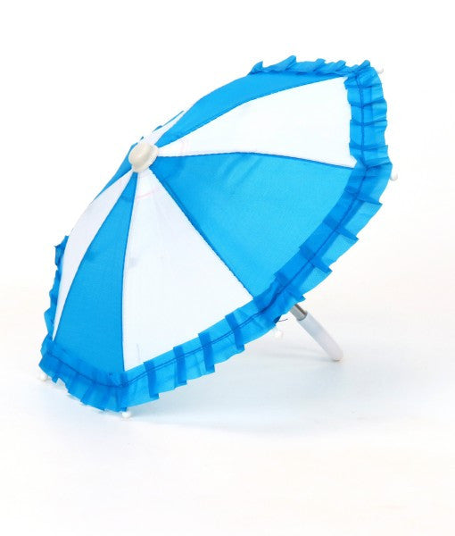 Umbrella blue & white