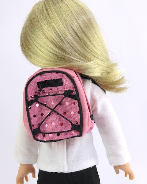 WW Backpack-Pink Sequin