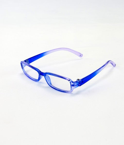 Purple Graduating Hue Frame Glasses