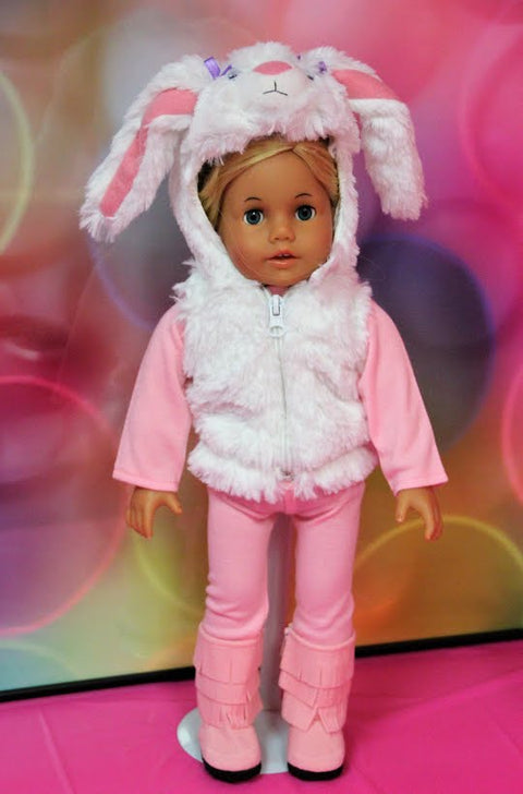 Easter Bunny Vest Outfit