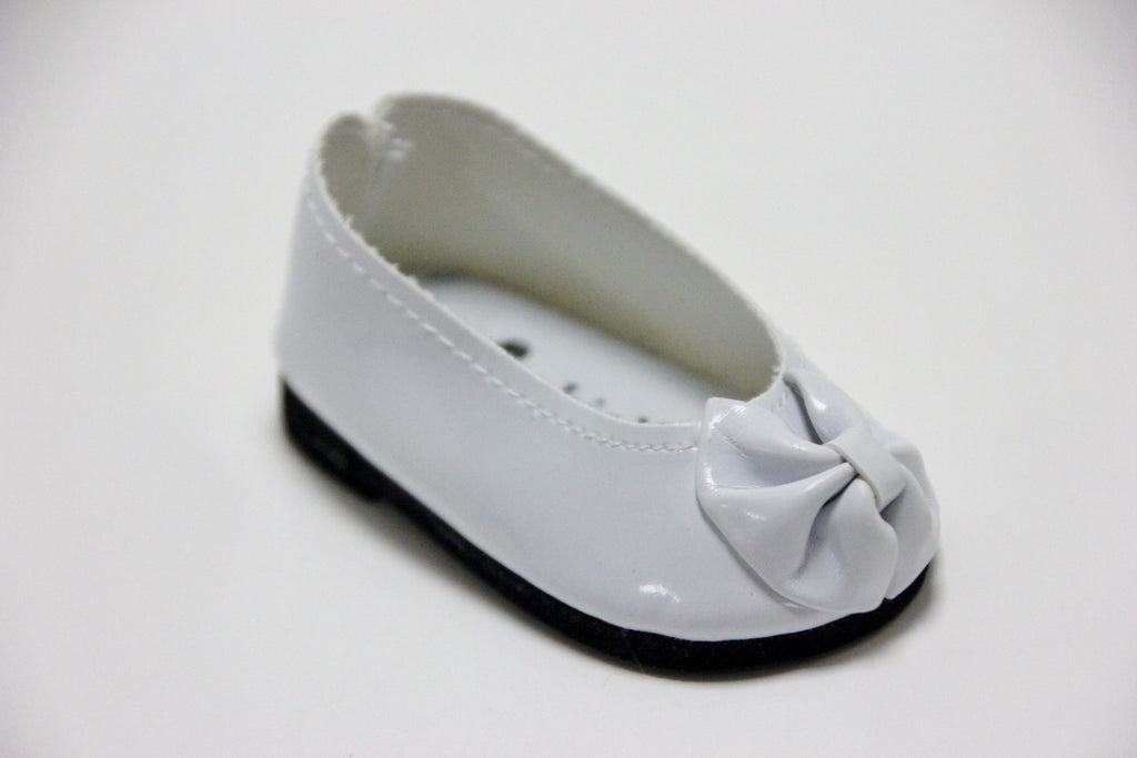 White Patent Dress Shoes