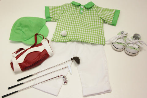 Lime Green Golf Outfit