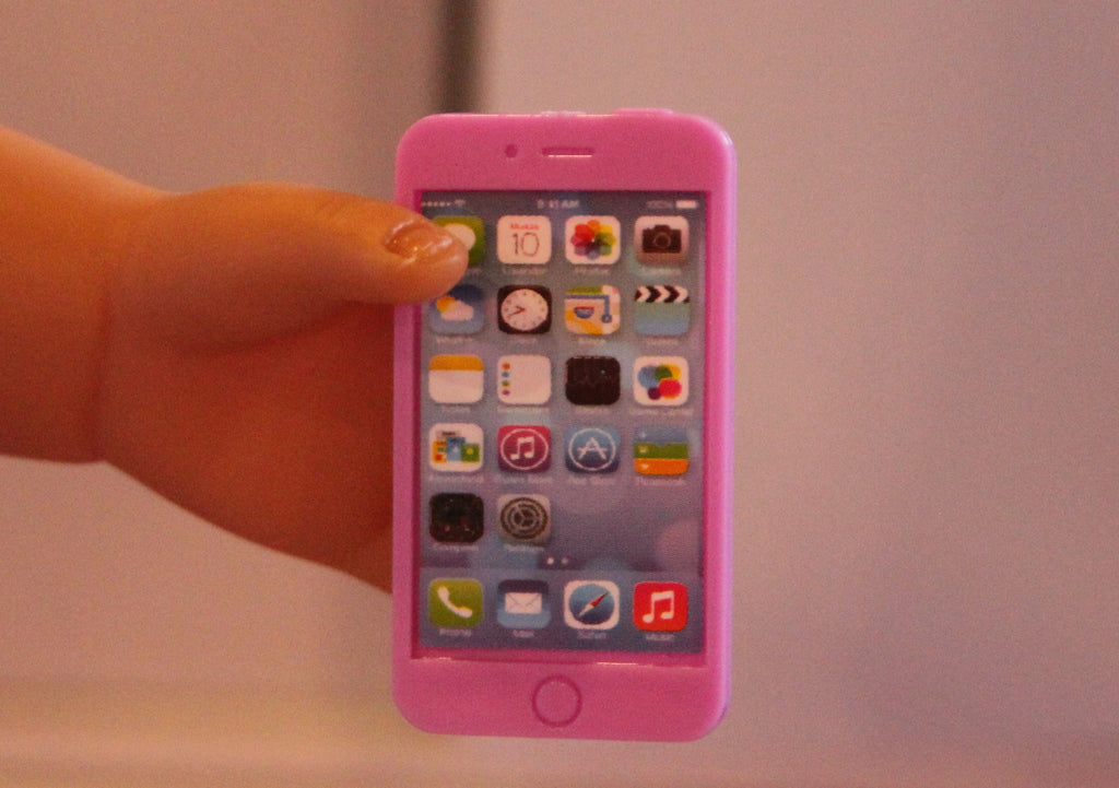 Purple iPhone