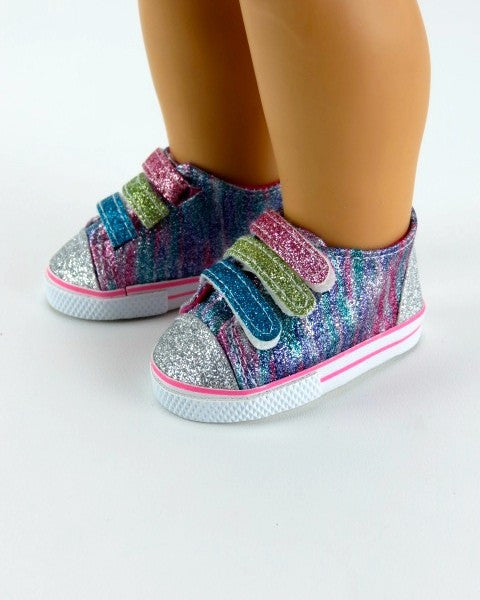 Sparkly Rainbow Sneakers