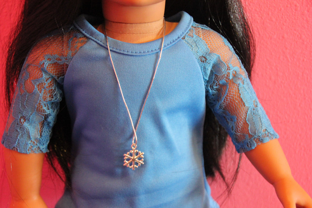 Snowflake Doll Necklace