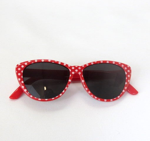 Red Polka Dot Sunglasses