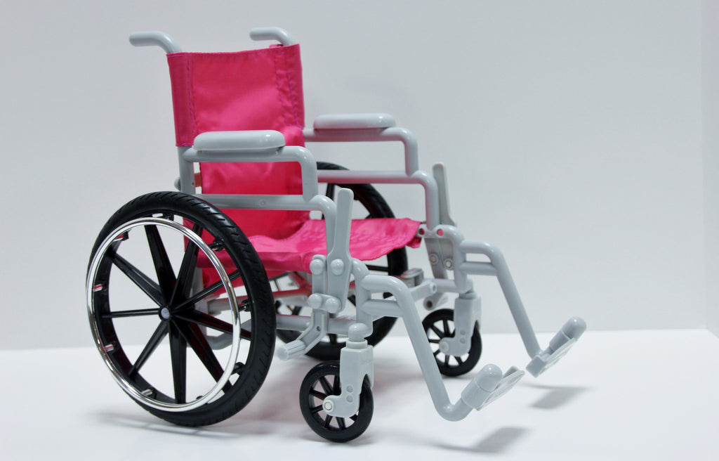 Hot Pink Wheelchair