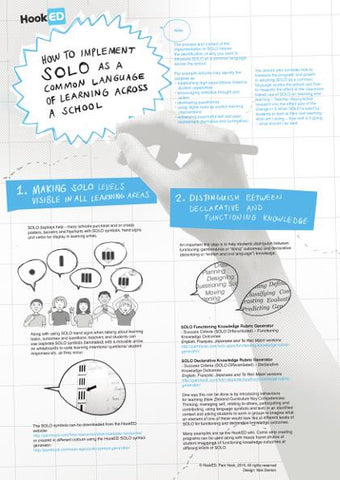 SOLO How to Implement: Infographic Download