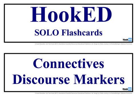 SOLO Flashcards Connectives: Download